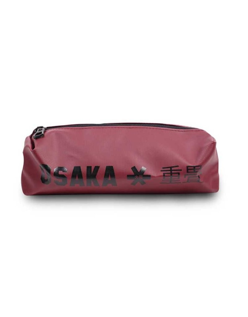 Osaka Sports Pencil Case Maroon Black