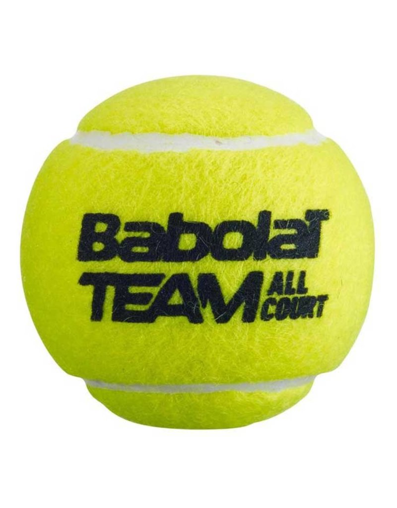 Babolat Team All Court 4 Stuks Tennisballen