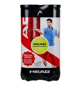Head 2x4 Novak Championship Tennisballen