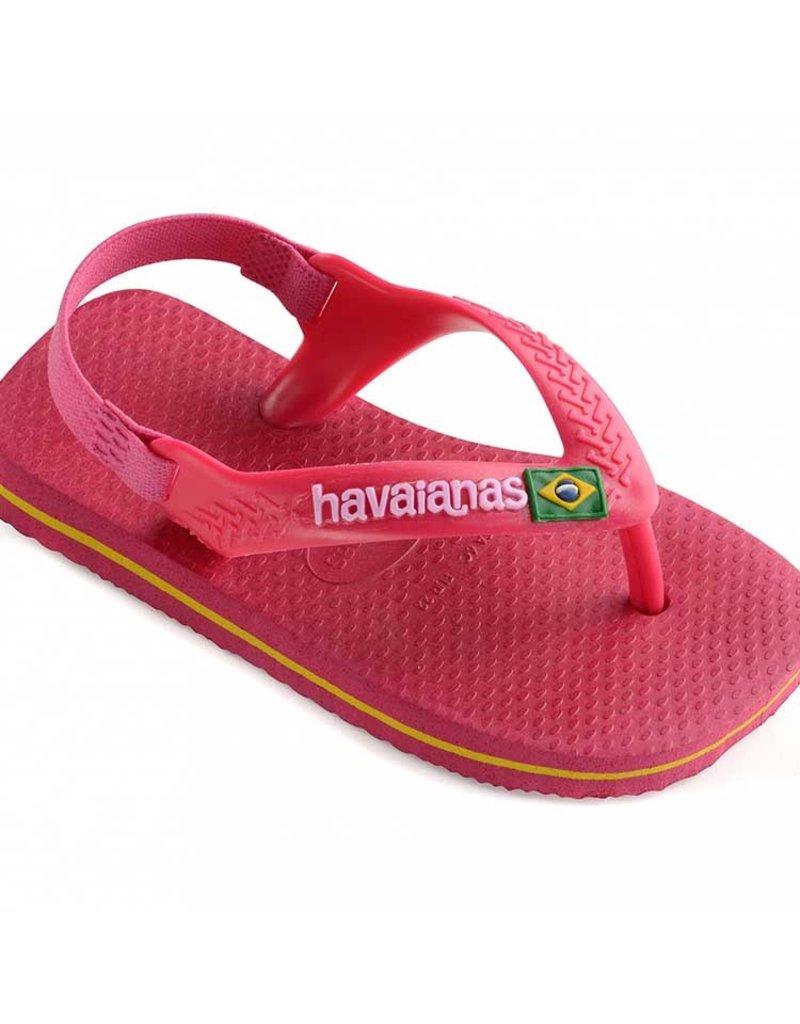 Havaianas Baby Brasil Logo Slipper