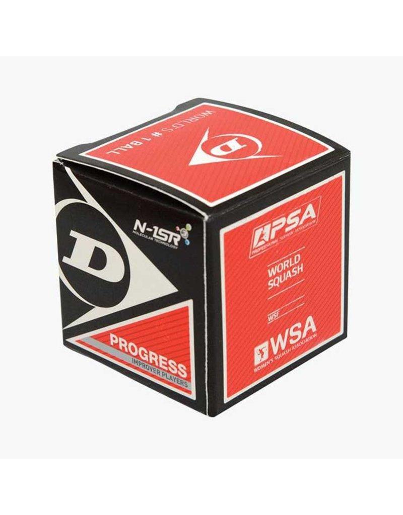 Dunlop Squashbal Progress
