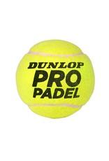 Dunlop Pro Padelballen