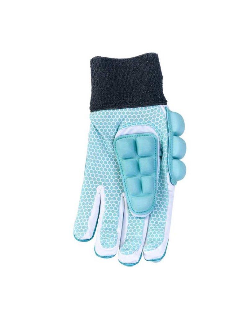 Brabo Indoor Glove F2.1 Left Hand Aqua Zaalhandschoen