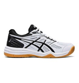Asics Upcourt 4 Junior Zaalschoen Wit