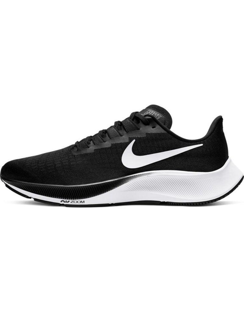 Nike Air Zoom Pegasus 37 Heren Hardloopschoen Zwart Wit