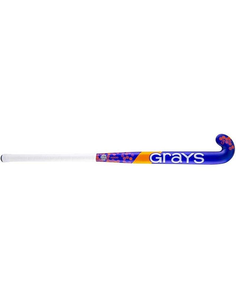 Grays GR4000 Dynabow Hockeystick Blauw Rood