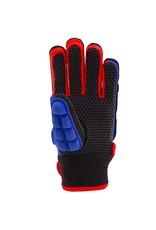 Grays Int Pro Glove Hockeyhandschoen Blauw Rood