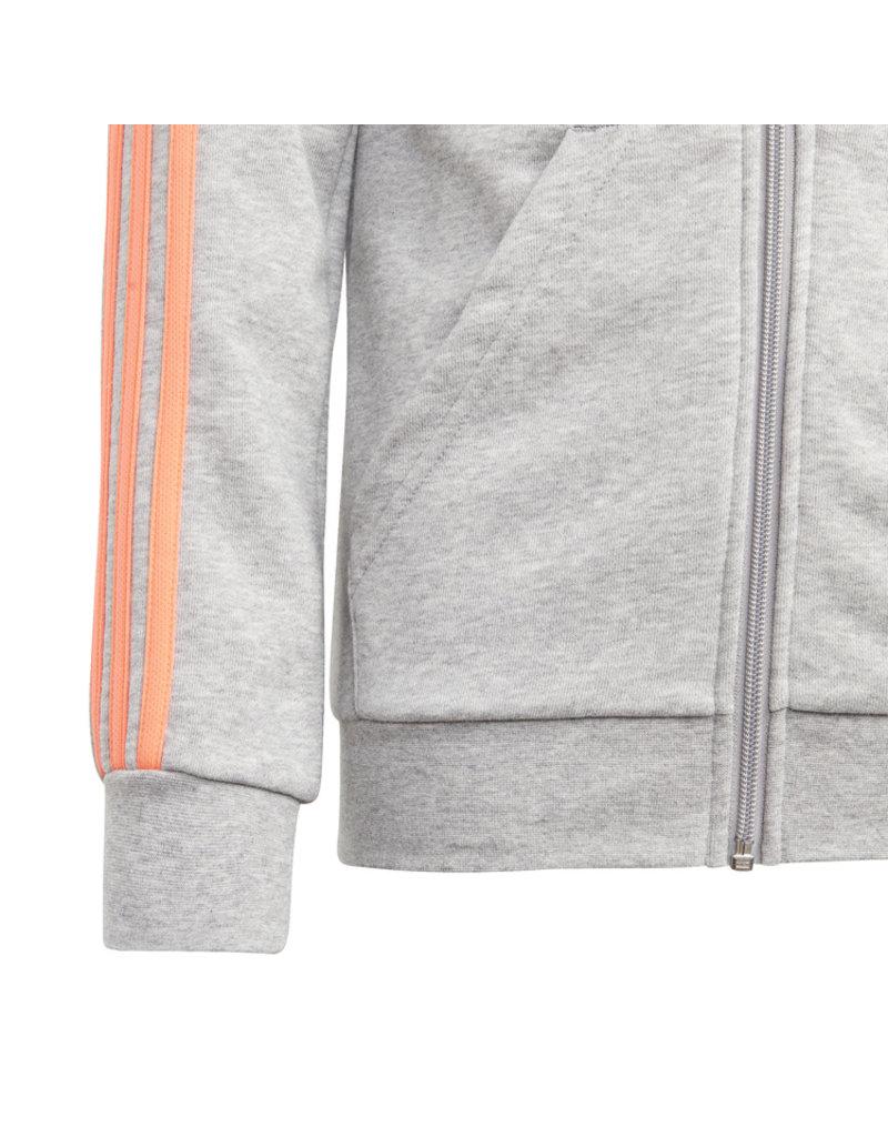 Adidas Essentials Full Junior Zip Hoodie