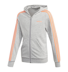 Adidas Essentials Full Junior Zip Hoodie