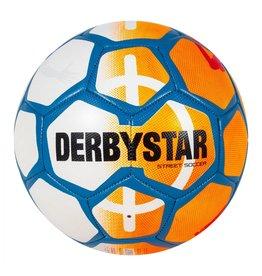 Derbystar Street Soccer Bal Oranje Wit