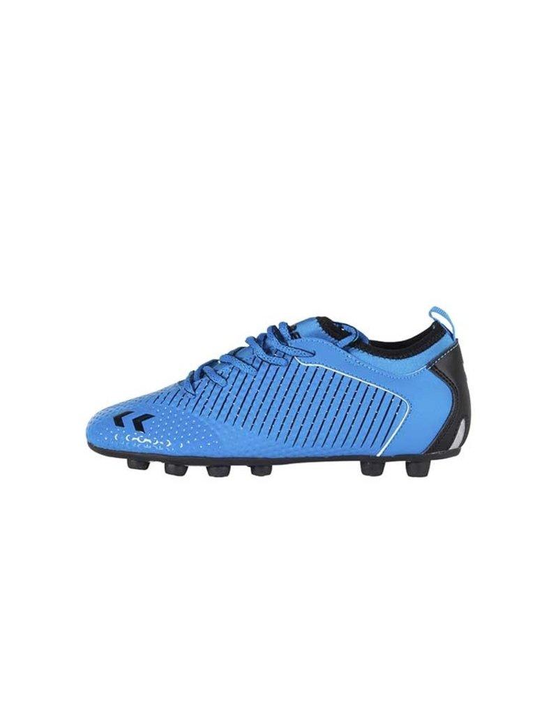 Hummel Zoom Voetbalschoenen Junior Blauw Zwart