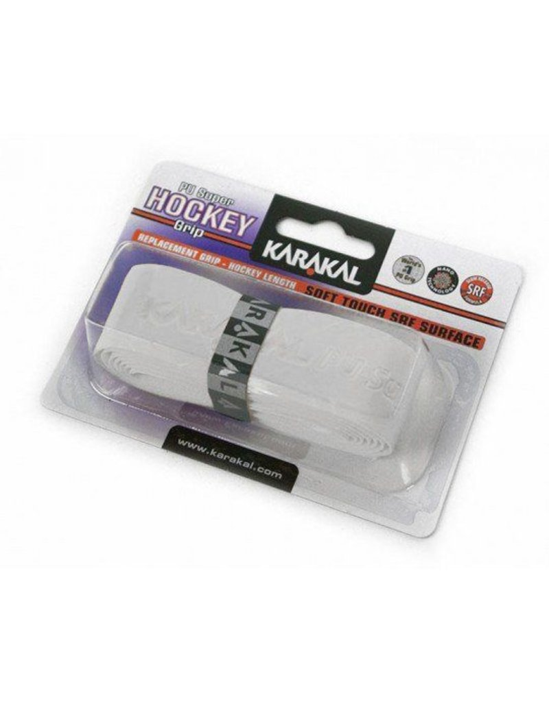 Karakal PU Supreme Hockeygrip Wit