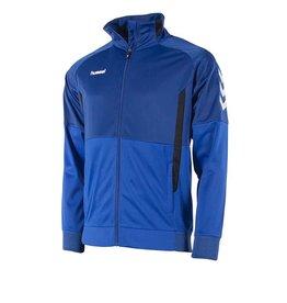Hummel Authentic Jacket met Rits Blauw Junior