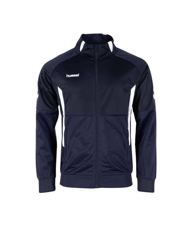 Hummel Authentic Jacket met Rits junior Navy Blauw