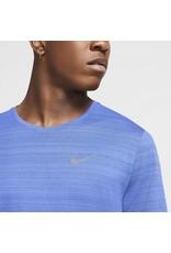 Nike Dri-Fit Miler T-shirt Blauw