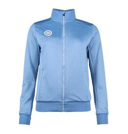 Indian Maharadja Terry Poly Jacket Dames Lichtblauw