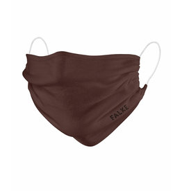 Falke Mondmasker 2-pack wasbaar Bruin