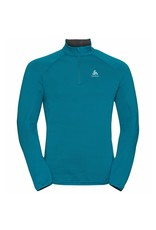 Odlo Midlayer 1/2 Zip Carve Ceramiwarm Heren Shirt Groen