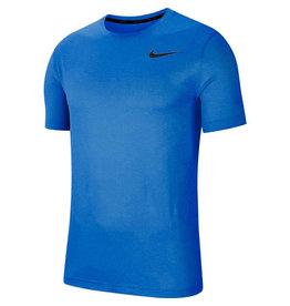 Nike Pro Heren Shirt Blauw