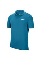 Nike Court Dri-Fit Polo Heren Aqua