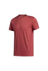 Adidas Aero 3Stripes Tee Heren Shirt Rood