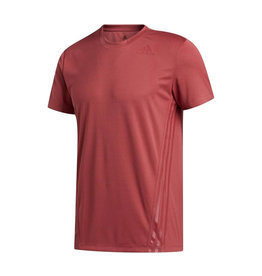 Adidas Aero 3Stripes Tee Heren Shirt Rood