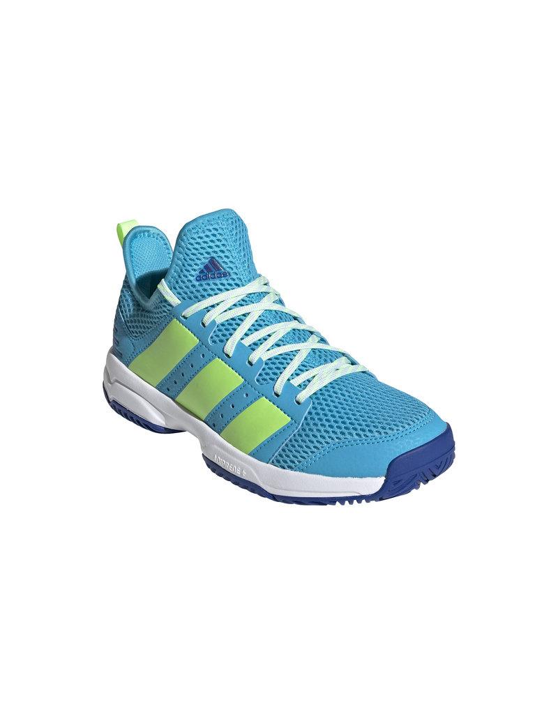 Adidas Stabil Junior Zaalschoenen Blauw