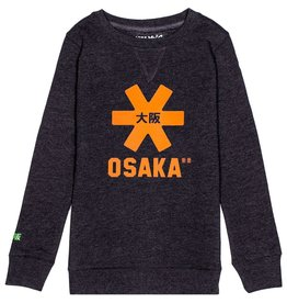 Osaka Deshi Sweater Orange Star Navy Melange