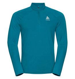 Odlo Midlayer Ceramiwarm Heren Shirt Blauw