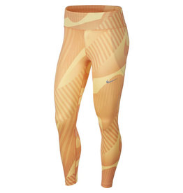 Nike Fast Running Tight Hardloopbroek Dames Oranje