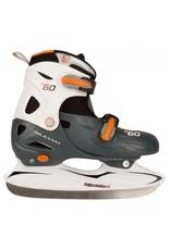 Nijdam Ijshockeyschaats Verstelbaar Junior 3060
