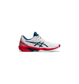 Asics Solution Speed FF 2 Clay Heren Wit Blauw