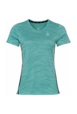 Odlo Zeroweight Engineered T-shirt Dames Groen