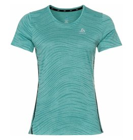 Odlo Zeroweight Engineered T-shirt Dames Groen