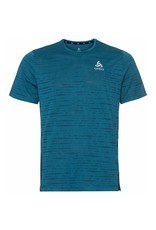 Odlo Zeroweight Engineered T-Shirt Heren Blauw