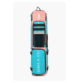 Osaka Pro Tour Stickbag Large Aqua Pink Mix Hockeytas