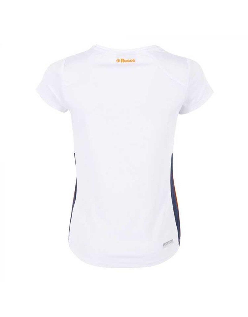 Reece Grammar Shirt Ladies Wit Oranje
