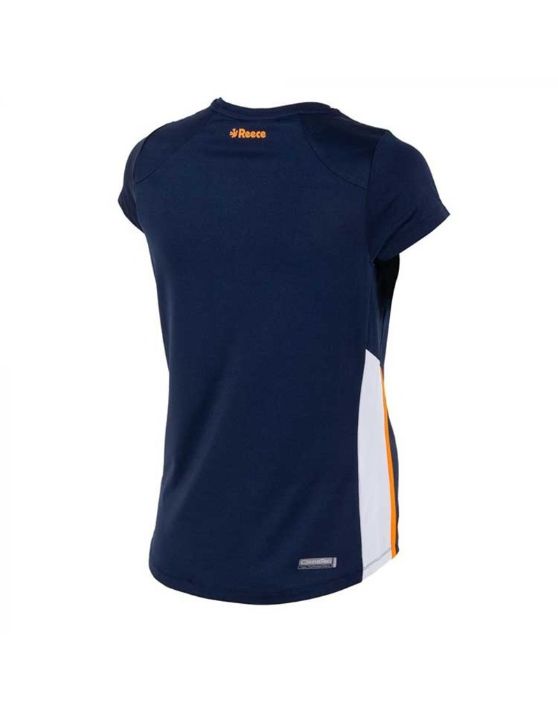 Reece Grammar Shirt Ladies Blauw Oranje