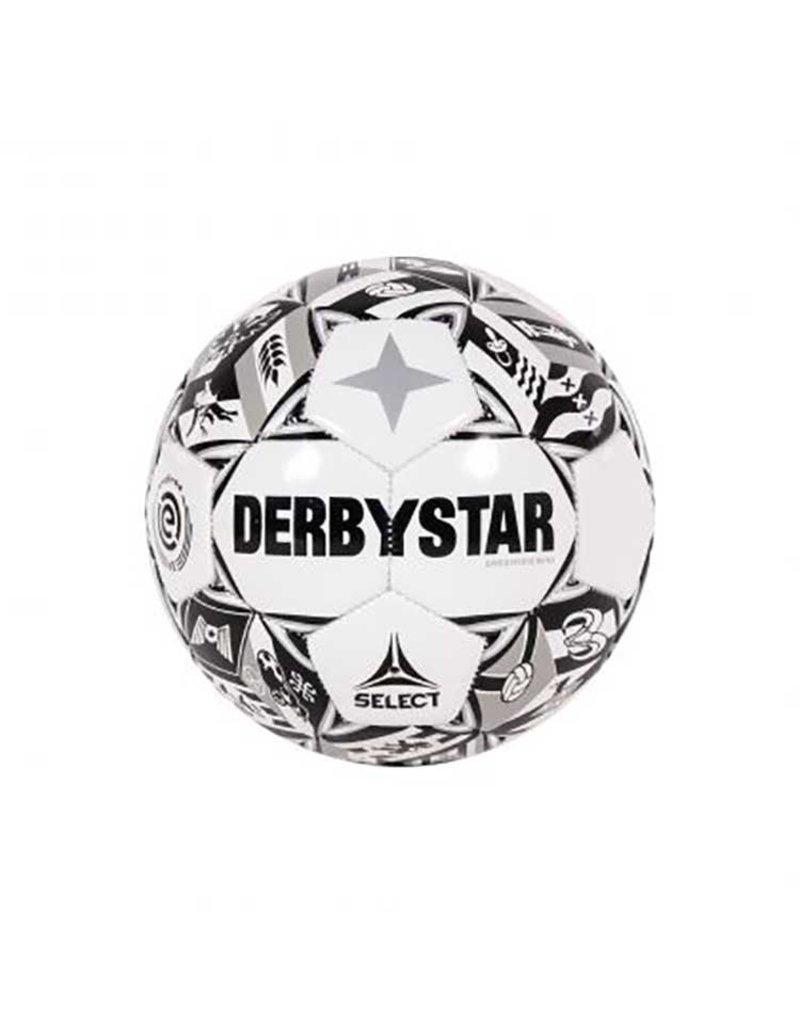 Derbystar Eredivisie Design Mini 21/22 zwart/wit