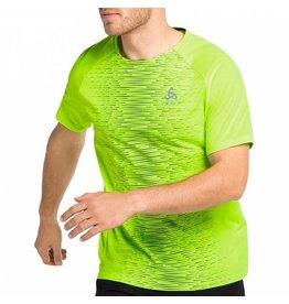Odlo Essential Print T-Shirt Heren Groen