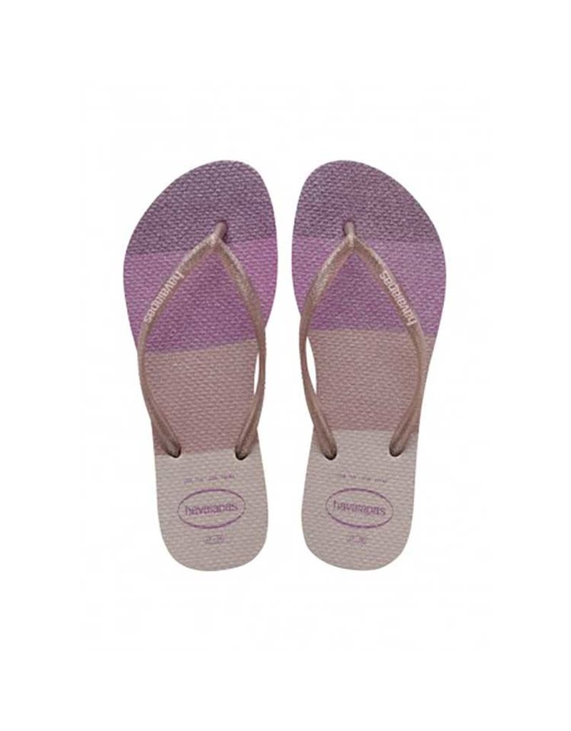 Havaianas Slim Palette Glow Candy Pink Slippers