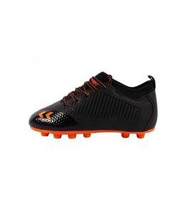Hummel Zoom Junior Zwart Oranje Voetbalschoenen