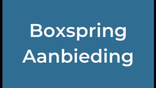 Boxspring aanbieding