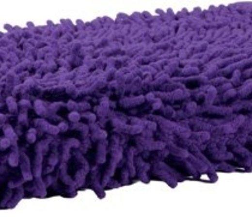 Badmatten paars - lila