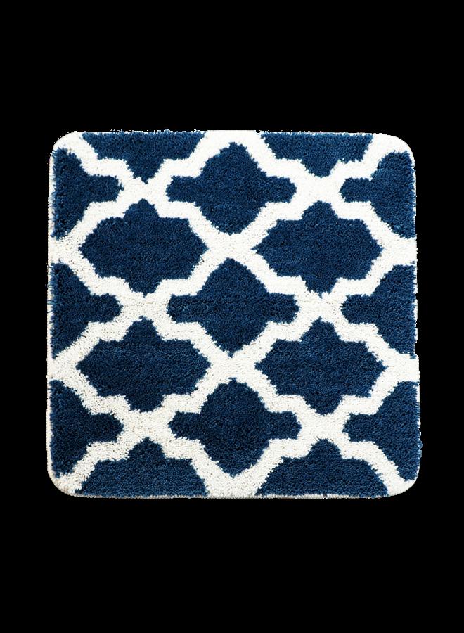Alhambra badmat donker blauw