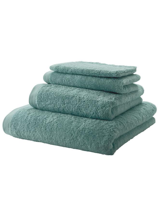London handdoek Groen