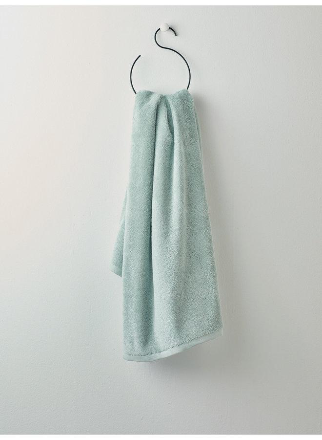 London handdoek Mist groen