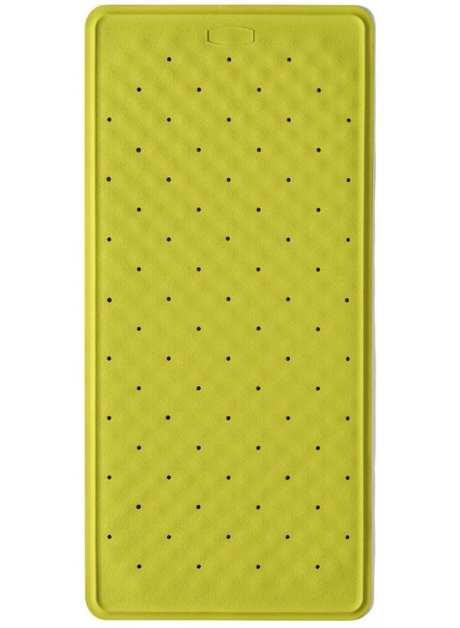 Bali antislip badmat 36x76 cm lime groen