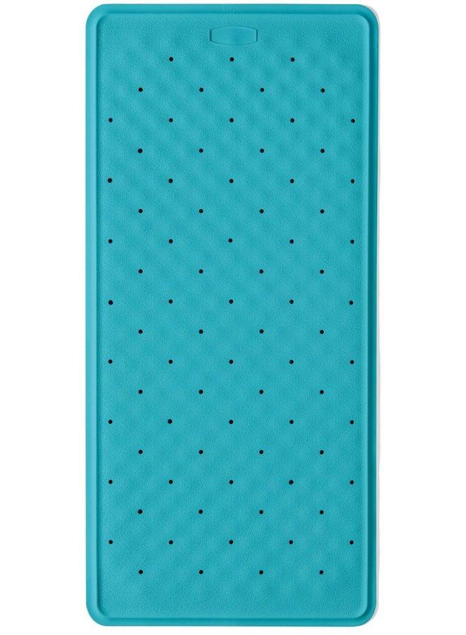 Bali antislip badmat 36x76 cm blauw