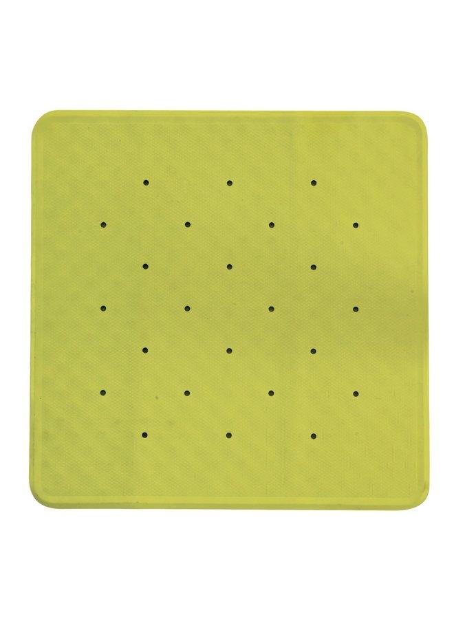 Simply antislip douchemat 53x53 cm cm lime groen